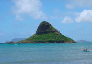 Northeast Side of Oahu, Hawaii Chinaman's Hat Mokolii Island