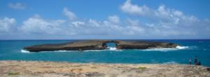 Northeast Side of Oahu, Hawaii Laie Point Island