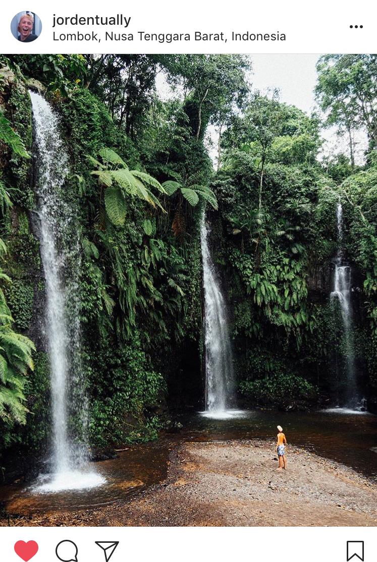 Instagram Bucket List Lombok Indonesia