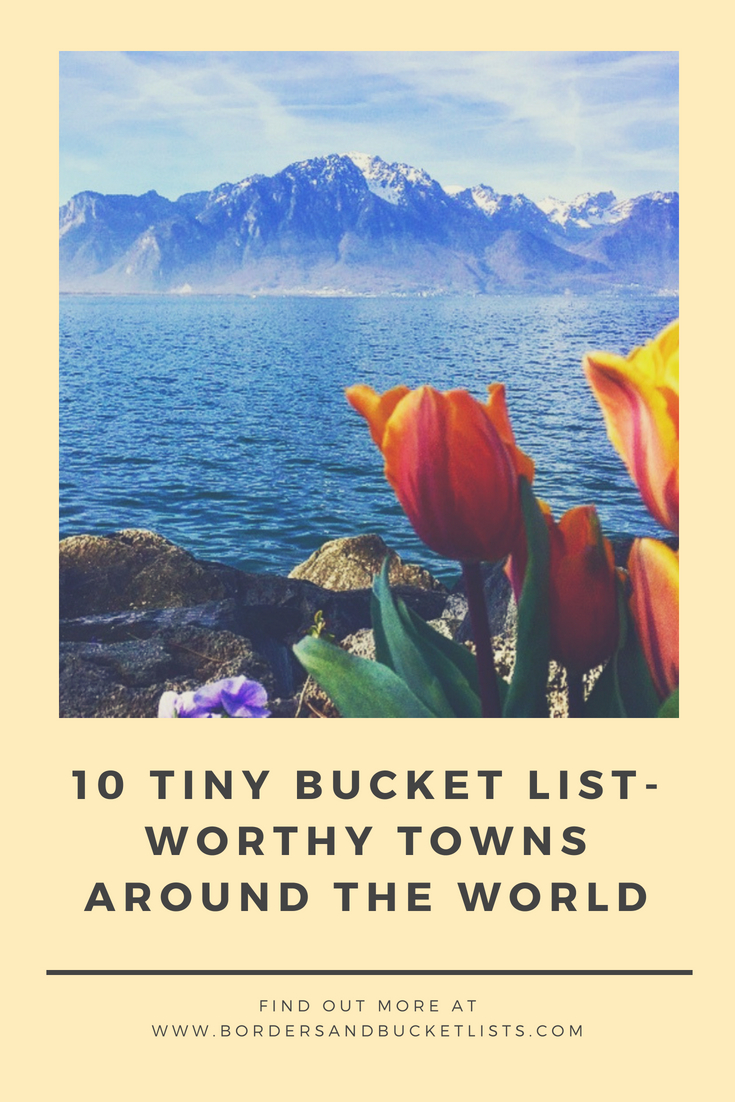 tiny bucket list-worthy towns around the world pin