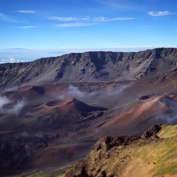 Haleakala Sunrise Craters