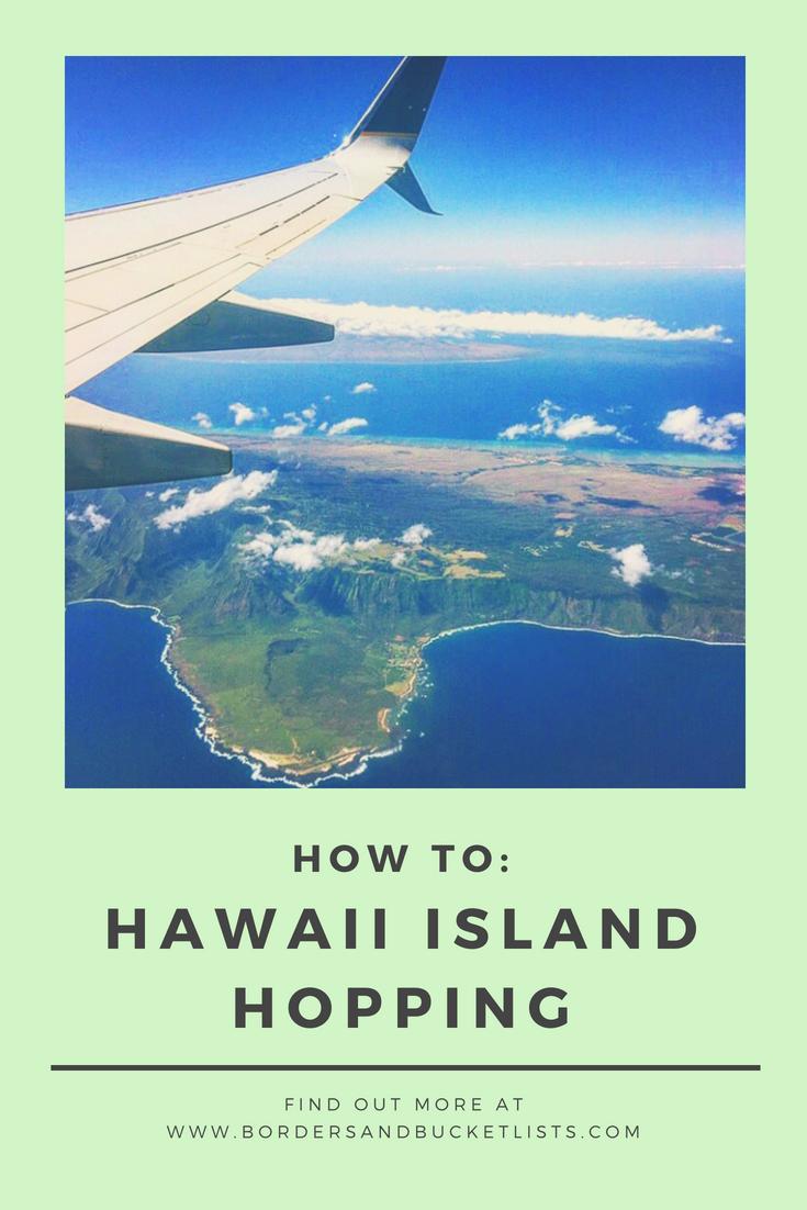 Hawaii Island Hopping Pin #Hawaii #IslandHopping #HawaiiIslandHopping #Oahu #Maui #Kauai #BigIsland #Lanai #Molokai