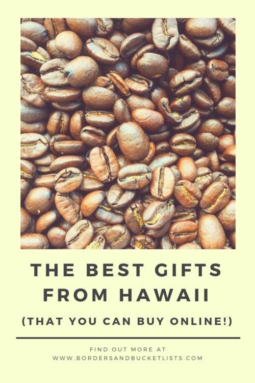 Best Gifts from Hawaii #hawaii #hawaiigifts #localguide #oahu #oahuhawaii