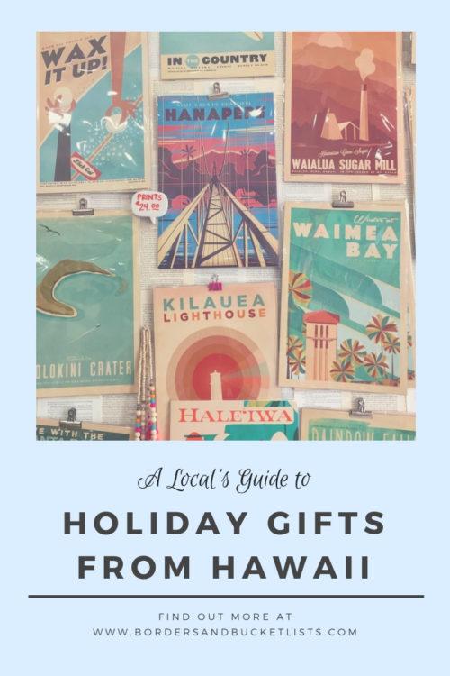 Holiday Gifts from Hawaii #hawaii #hawaiigifts #localguide #oahu #oahuhawaii