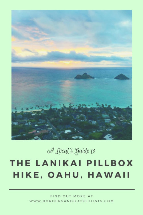 Lanikai Pillbox Hike Pin #lanikai #lanikaipillbox #lanikaipillboxhike #hike #hawaii #oahu #oahuhike