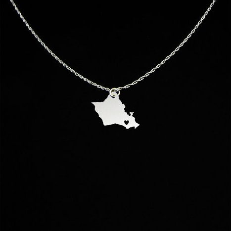 Gifts from Hawaii Oahu Necklace