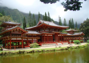 Northeast Side of Oahu, Hawaii Byodo-in Temple