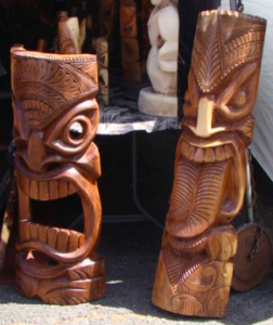 Aloha Stadium Swap Meet Tikis
