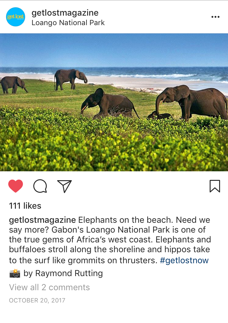 Instagram Bucket List Loango National Park Gabon