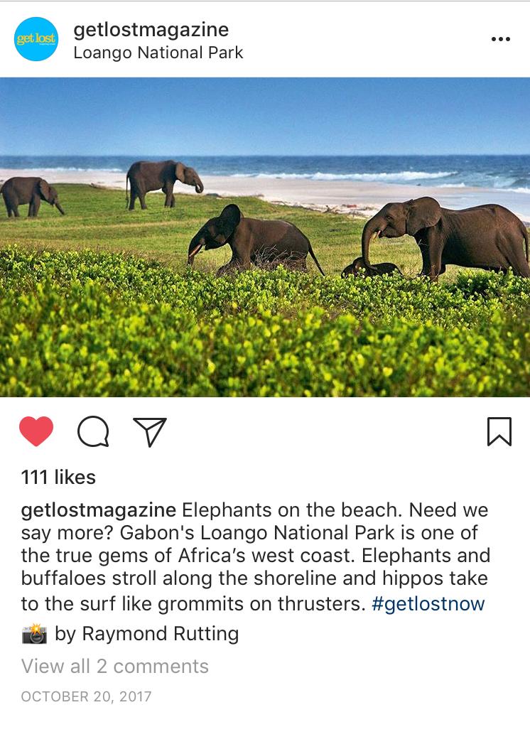 Instagram Bucket List Loango National Park Gabon