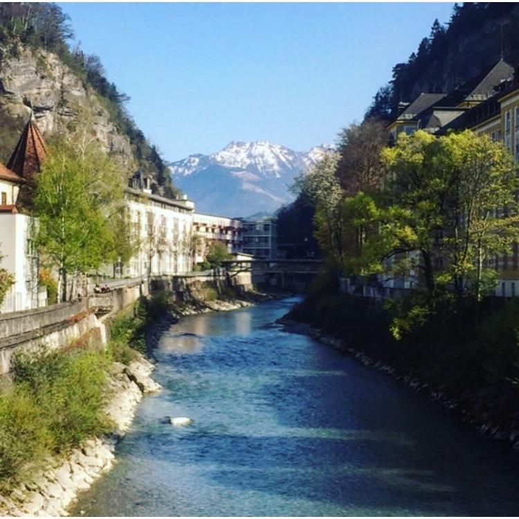 Walking Across the Country of Liechtenstein