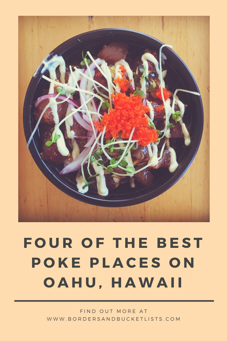 Best Poke on Oahu #poke #food #foodie #oahu #hawaii