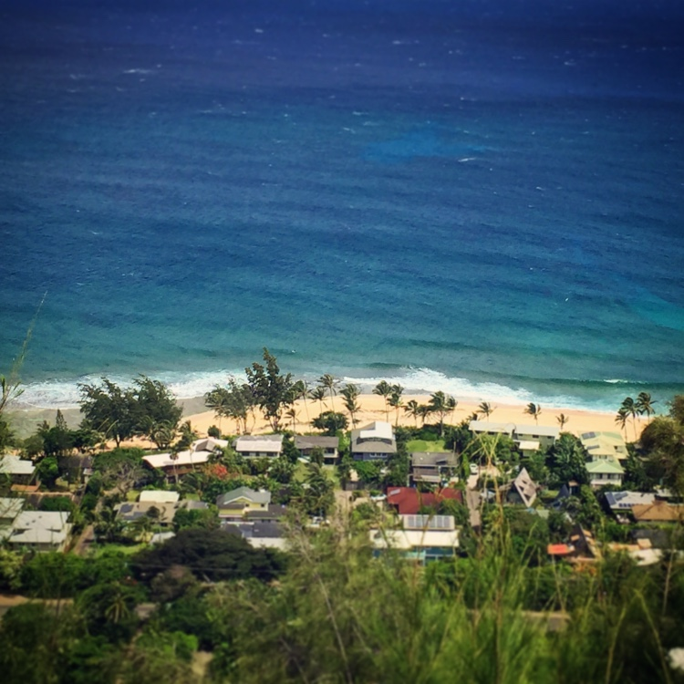 Ehukai Pillbox View of Sunset Beach North Shore Oahu Hikes