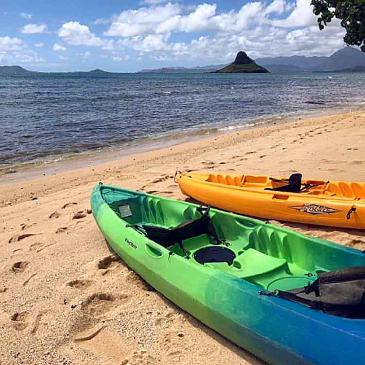 Chinaman's Hat Kayaking