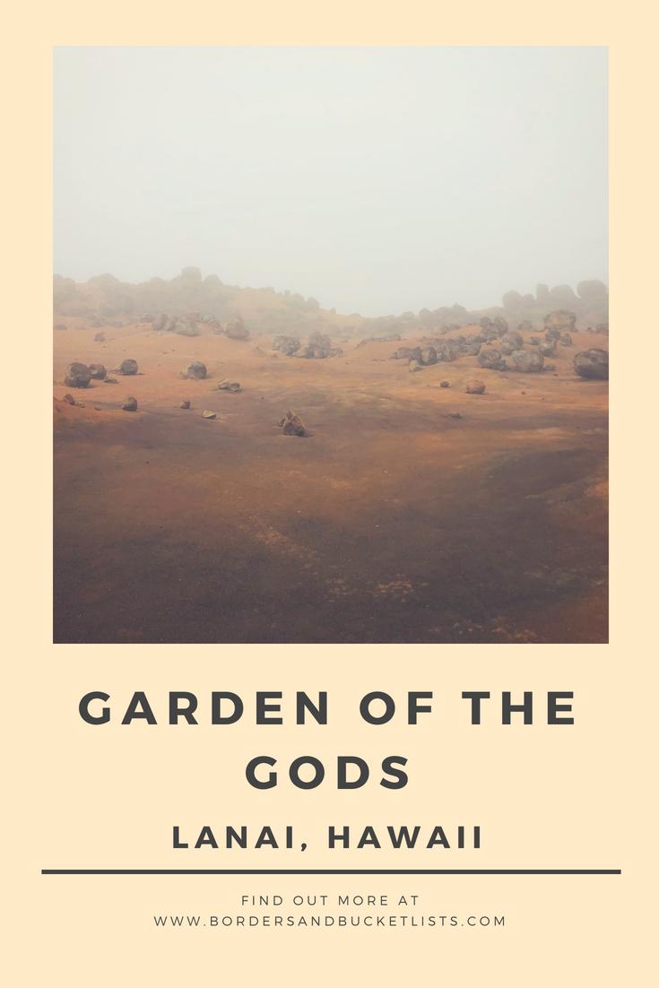 Garden of the Gods, Lanai Pin #lanai #hawaii #gardenofthegods #gardenofthegodslanai