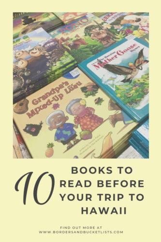 Books to Read Before Your Trip to Hawaii #oahu #maui #kauai #hawaii #books #reading