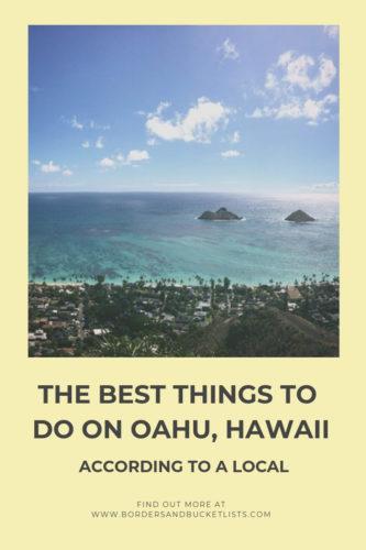 The Best Things to Do on Oahu, Hawaii #oahu #hawaii #oahuhawaii #localtips #honolulu #waikiki