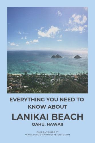 Everything to Know About Lanikai Beach, Oahu, Hawaii #lanikai #lanikaibeach #oahu #hawaii