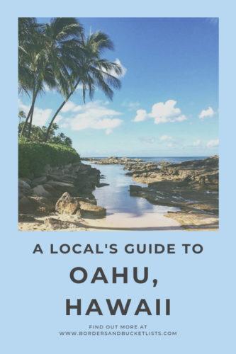 A Local's Guide to Oahu, Hawaii #oahu #hawaii #oahuhawaii #localtips #honolulu #waikiki