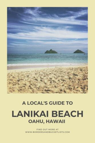 Local's Guide to Lanikai Beach, Oahu, Hawaii #lanikai #lanikaibeach #oahu #hawaii