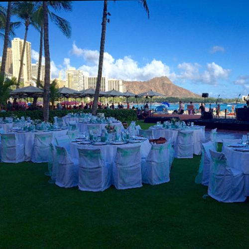 Diamond Head Wedding Royal Hawaiian