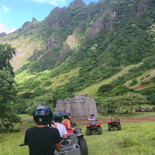 ATV Tour at Kualoa Ranch