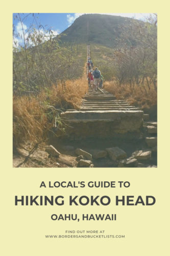 A Local's Guide to Hiking Koko Head Oahu, Hawaii #oahu #hawaii #hiking #oahuhike #kokohead