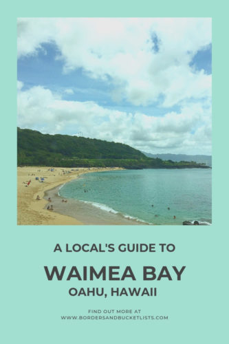 A Local's Guide to Waimea Bay, Oahu, Hawaii #waimeabay #oahu #hawaii #northshore