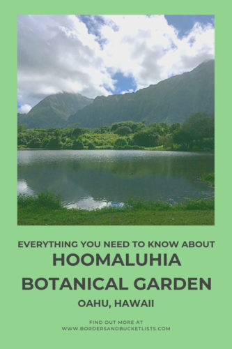 Everything to Know About Hoomaluhia Botanical Garden, Oahu, Hawaii #oahu #hawaii #hawaiitravel #hawiaiinspiration #hoomaluhiabotanicalgarden