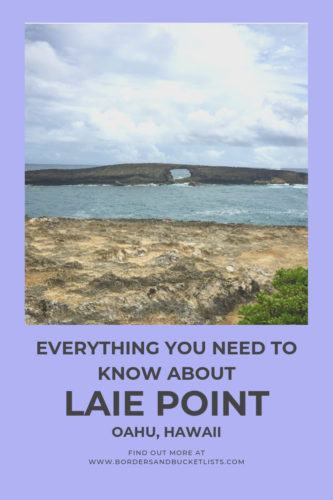 Everything to Know about Laie Point, Oahu, Hawaii #oahu #hawaii #laiepoint #travelinspiration #hawaiitrip