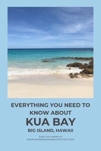 Everything to Know About Kua Bay, Big Island, Hawaii #hawaiibeaches #bigisland #hawaii #kuabay