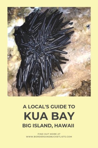 Local's Guide to Kua Bay, Big Island, Hawaii #hawaiibeaches #bigisland #hawaii #kuabay