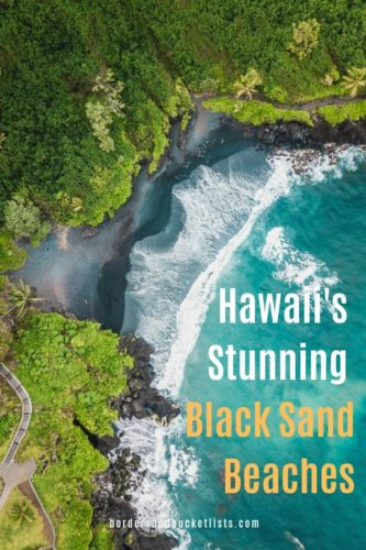 Hawaii's Stunning Black Sand Beaches