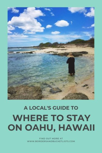 Local's Guide to Where to Stay on Oahu, Hawaii #oahu #hawaii #localguides #hotels
