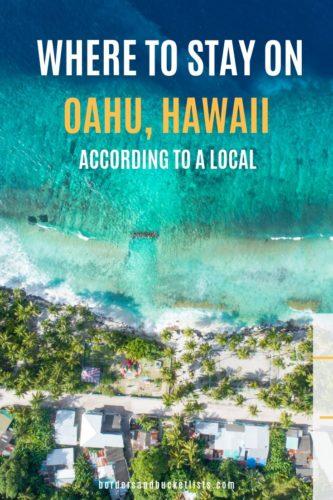 Where to Stay on Oahu, Hawaii #oahu #hawaii #localguides #hotels