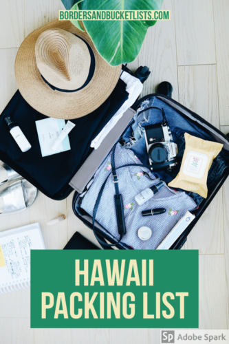Hawaii Packing List, Hawaii packing, Hawaii packing list Oahu, Hawaii packing list Maui, Hawaii packing list Big Island, what to pack for Hawaii #hawaii #packinglist #packing