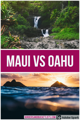 Maui vs Oahu, Oahu vs Maui, things to do on Maui, things to do on Maui, best Hawaiian Island, which Hawaiian Island is best #maui #oahu #hawaii #mauivsoahu #oahuvsmaui