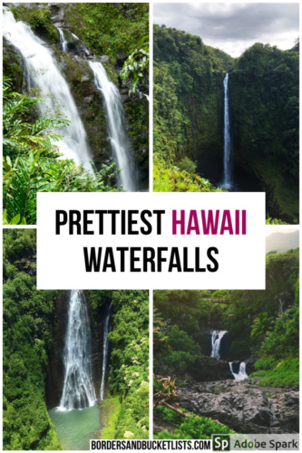 Hawaii waterfalls, best hawaii waterfalls, things to do in hawaii, waterfalls in hawaii, waterfalls in honolulu, maui waterfalls, oahu waterfalls, big island waterfalls, kauai waterfalls #hawaii #waterfall