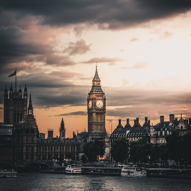 Big Ben on gloomy day London bucket list things to do in London