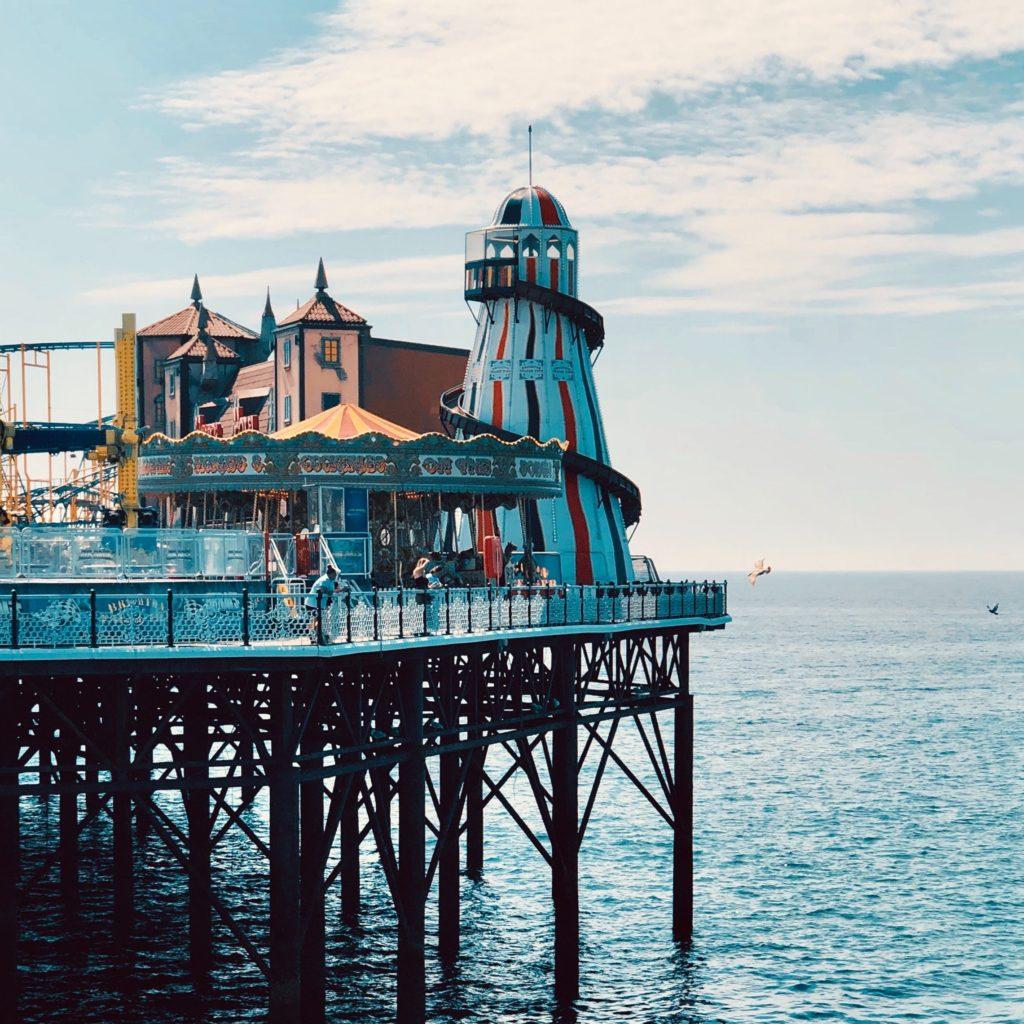 Brighten pier